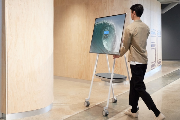 Microsoft launches Surface Hub 2S