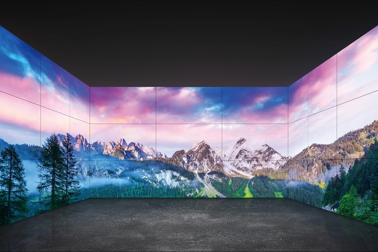 LG's video wall is one step closer to a bezel-less display