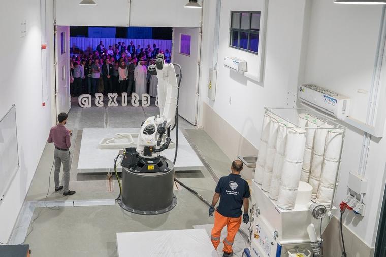 Besix Launches 3D Concrete Printing Studio in Dubai