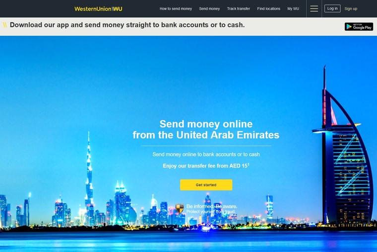Western Union goes digital in the UAE
