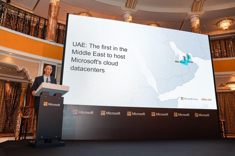 Microsoft Cloud datacenter regions now available in the UAE