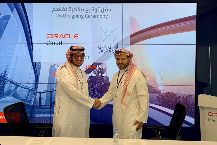 Oracle collaborates with Saudi Arabia's OceanX to support startup growth