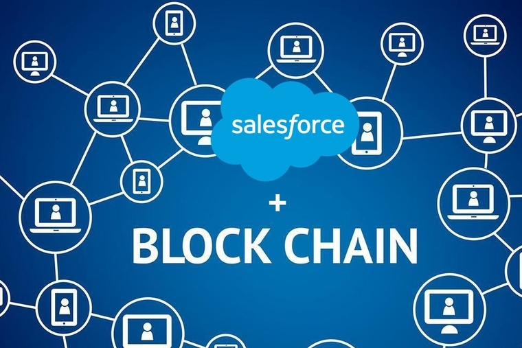 Salesforce introduces the First Low-Code Blockchain platform for CRM