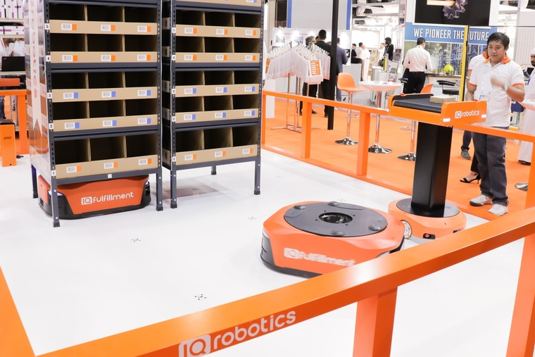 IQ Robotics' first complete robotic implementation set to transform Dubai's logistics sector