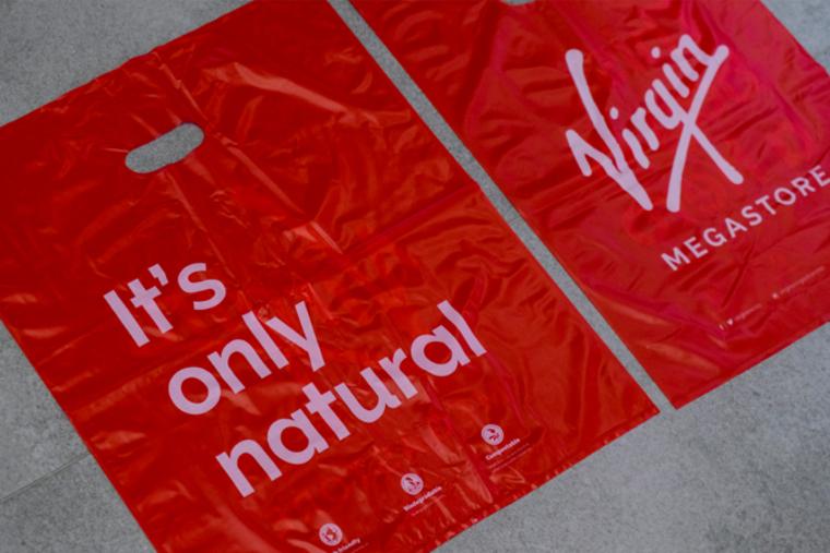 Virgin Megastore UAE replaces plastic with biodegradable bags