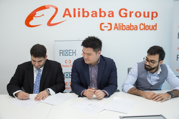 """""""Rizek"""" signs MOU with Alibaba for cloud partnership"""