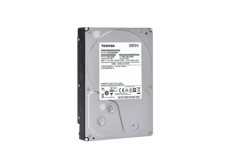 Toshiba launches Surveillance 6TB HDDs for DVR and NVR Platforms