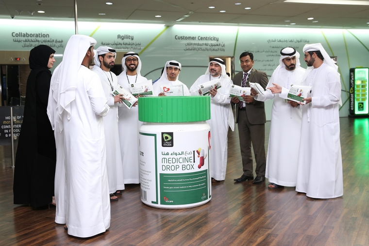 Etisalat announces CSR campaign collect unused medicines from its employees