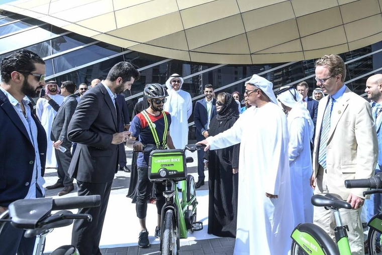 RTA and Careem's bike sharing service is the right step to sustainable transportation