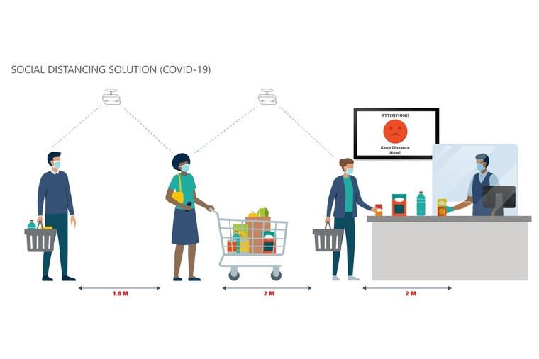 Vemco develops AI-based solution to help retailers monitor social distancing
