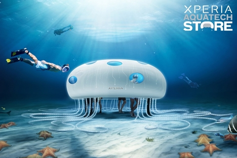 Sony reveals details of underwater Dubai store