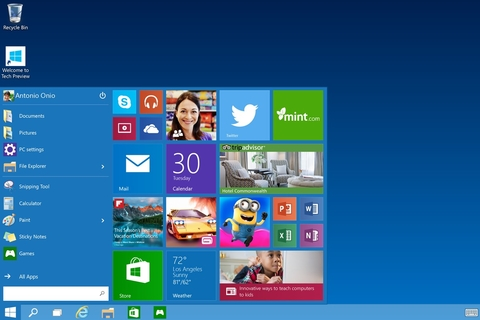 Microsoft rollout automatic Windows 10 update