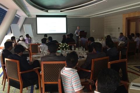 Global Distribution holds SolarWinds partner event