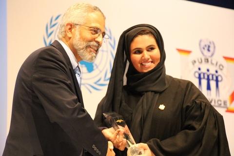 Emirates ID wins UN Award