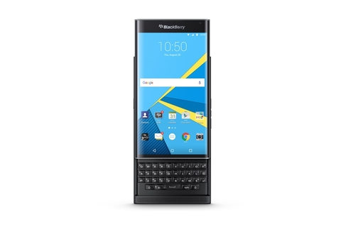 BlackBerry launches Android smartphone