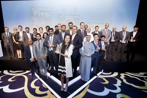 Network Middle East Award winners announced