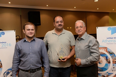 Middle East SIs honoured at Infinet Wireless' international partner meet