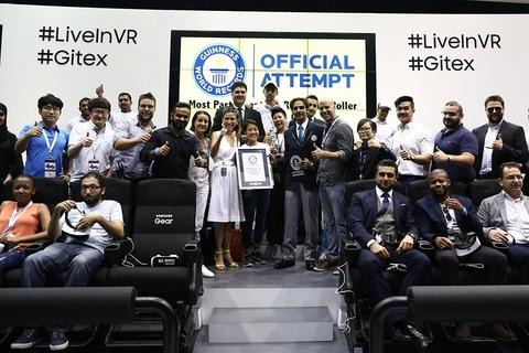 GITEX sets record in VR