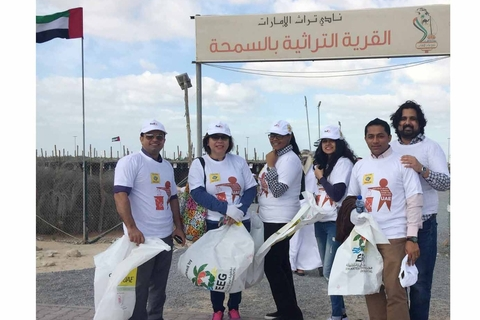 Alpha Data supports 'Clean up UAE' campaign
