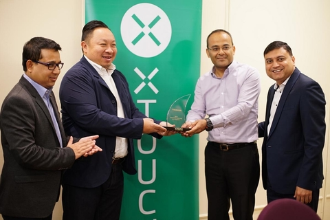XTOUCH honours Redington for contributing to its growth in ME