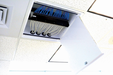 Siemon launches new passive ceiling zone enclosure