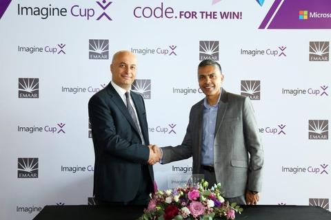 Emaar to sponsor Microsoft Imagine Cup UAE 2017