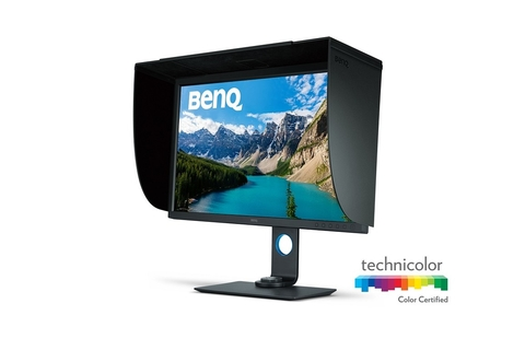 BenQ boosts colour accuracy on flagship photographer monitor