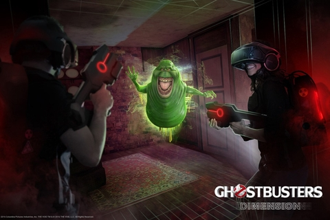 Ghostbusters comes to life with virtual reality