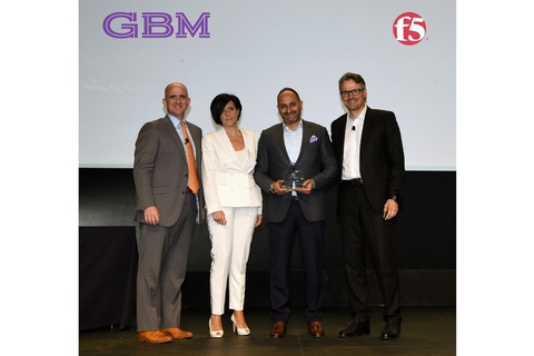 GBM takes top F5 Networks partner crown