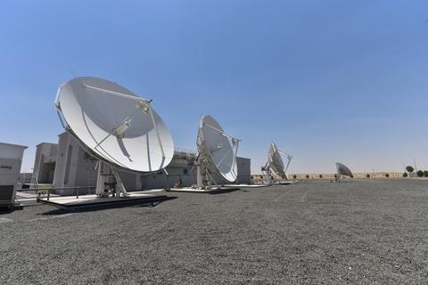 In pics: du's teleport facility