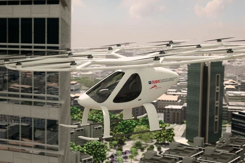 Dubai to operate pilotless flying taxis within five years