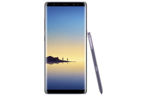 Samsung Galaxy Note8 enters the spotlight