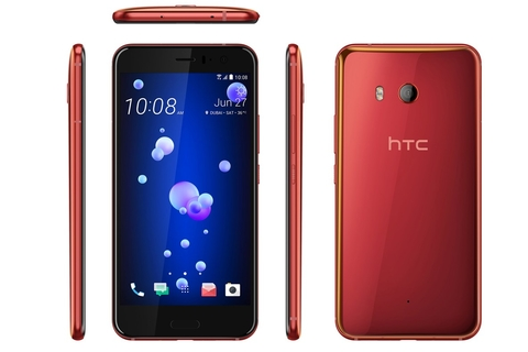 HTC's squeezable Solar Red U11 arrives in the UAE