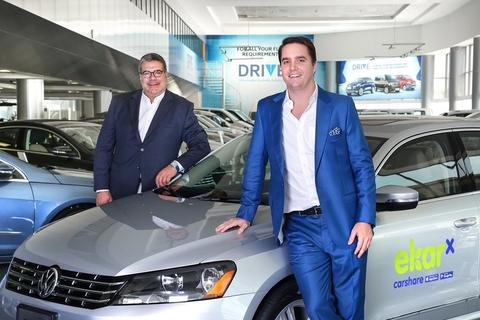 Carsharing firm ekar to add a hundred Volkswagen to fleet