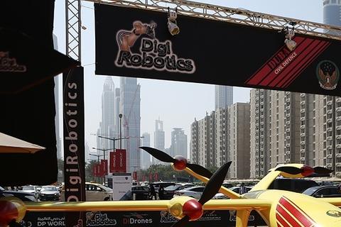 DigiRobotics launches fire fighting drone at GITEX