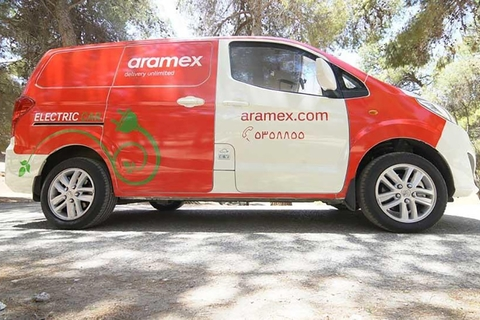 Dubai's Aramex adds electric vehicles to fleet