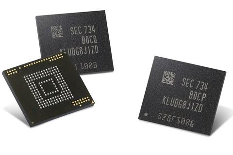 Samsung starts producing flash storage