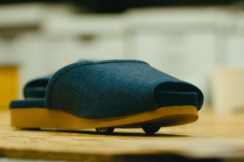 Now Nissan showcases self-parking slippers