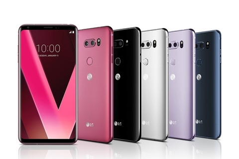 LG V30 available in Raspberry Rose in time for Valentine's Day