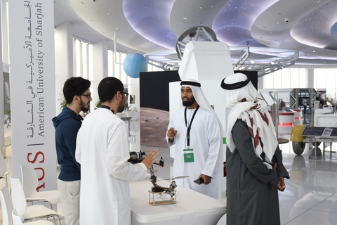 AUS shows seven innovations for UAE Innovation Month