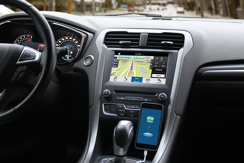 Sygic car app allows drivers to ask for directions