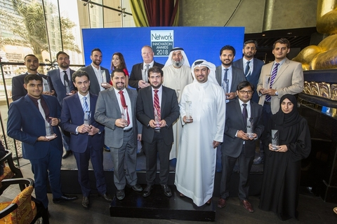 Network Middle East rewards industry excellence at 2018 Innovation Awards