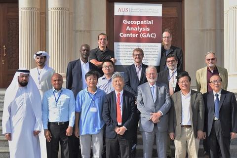 AUS hosts geospatial data workshop