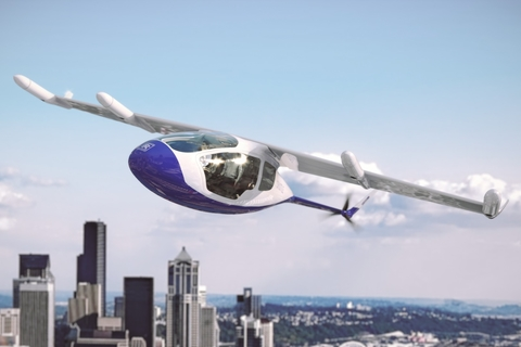 Famous names enter the race for flying cars