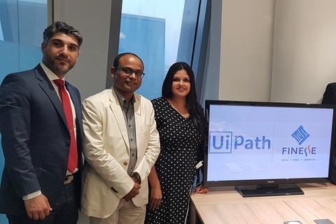 Finesse, UiPath tie-up to offer robotic process automation services