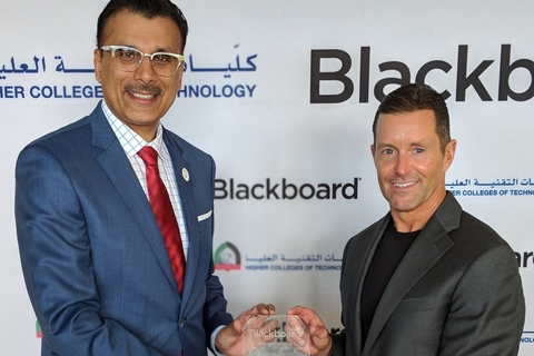 Blackboard and HCT to create edtech centre of excellence