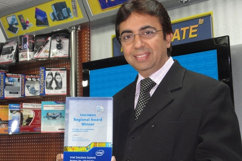 Touchmate wins Intel Regional Award