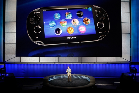Sony shows off new handheld console, new games line up