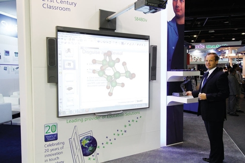 Smart brings magic to whiteboards