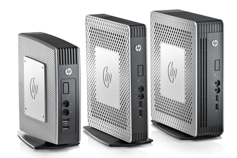 HP unveils two new thin clients